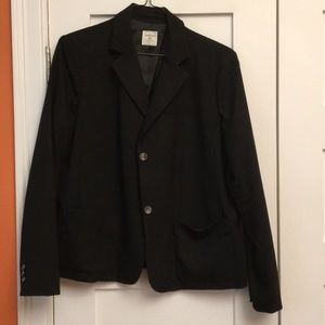 Gap Academy blazer in black NWOT